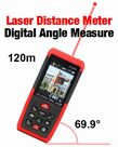 Spot-On Red Beam Laser Distance Meter 120m w/Camera : Laser Distance Meters