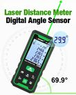 Spot-On Green Beam Laser Distance Meter 50m : Digital Laser Levels