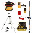 Fukuda Laser FRE205 Rotary Laser HDG Pole/Tripod Sets : Rotary Lasers