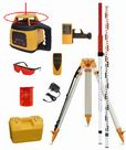 Spot-On Rotary Laser Level 300 On-Site Levelling Set - Promotion : Rotary Lasers