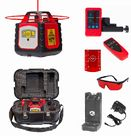 Spot-On Rotary Laser Level 300 Red Horizontal Vertical & Plumb Set : Rotary Lasers